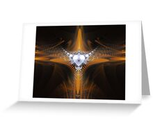 'Purity in Silver and Gold' Greeting Card