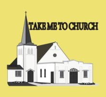 Take Me To Church Kids Clothes