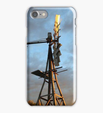 Windmill in the Sky iPhone Case/Skin