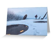 Warm Hatches, Opening Up Greeting Card