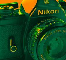 Nikon EM SLR Camera Sticker