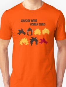 Choose Your Power Level Unisex T-Shirt