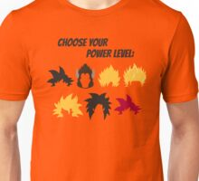 Choose Your Power Level Unisex T-Shirt