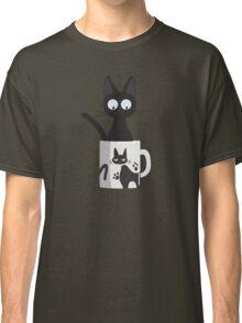 Cat In A Mug Classic T-Shirt