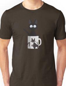 Cat In A Mug Unisex T-Shirt