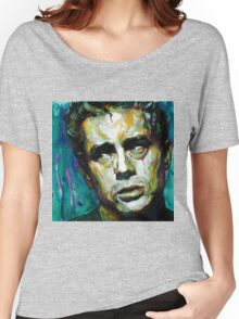 James Dean watercolor Women's Relaxed Fit T-Shirt