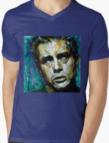 James Dean watercolor Mens V-Neck T-Shirt