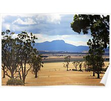 Ben Lomond from Epping Forest - Tasmania, Australia Poster