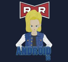 Dragonball Z Android 18 by Dalyz