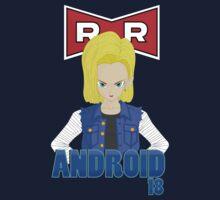 Dragonball Z Android 18 by Dori Designs