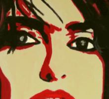 Portrait of Penelopez Cruz Sticker