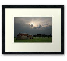 Rural Scene, Warrnambool, Australia, Landscape Framed Print