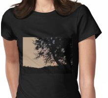 Sunrise in Orange Ink Womens Fitted T-Shirt