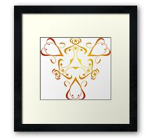 Royal Hearts Framed Print