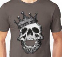Crown Skull Tee (shadow) Unisex T-Shirt