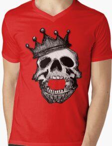 Crown Skull Tee (no shadow) Mens V-Neck T-Shirt