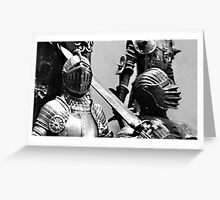 Knights... Greeting Card