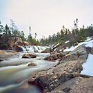 Quarry Brook,Conception Bay South by Max Buchheit