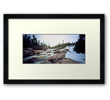 Quarry Brook,Conception Bay South Framed Print