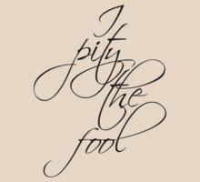 Rocky III - I Pity The Fool by scatman