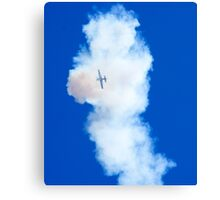 Lost In Smoke Canvas Print