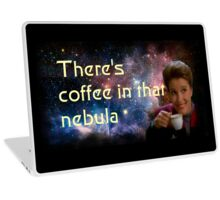 There is coffee in that nebula - Kathryn janeway Star Trek Voyager Laptop Skin