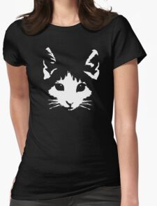 Pepper the Cat Womens Fitted T-Shirt