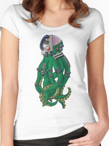 OCTOBORG  Women's Fitted Scoop T-Shirt