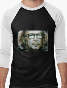Eric Clapton watercolor Men's Baseball ¾ T-Shirt