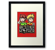 Another MOTHER - Travis & Lucas Framed Print