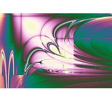 Rainbow Ribbon Photographic Print