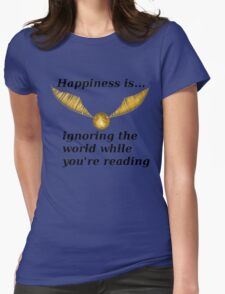 Happiness is... Harry Potter Edition Womens Fitted T-Shirt