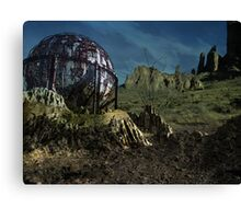 Extinct Base Planet Canvas Print