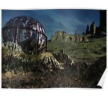 Extinct Base Planet Poster