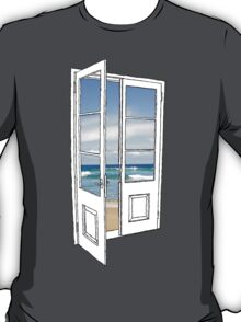 Beach Door T-Shirt