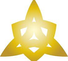 Triangle of Gold by BorisBurakov