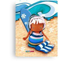 CHUNKIE Surfer Canvas Print