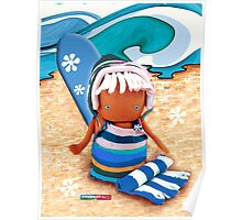 CHUNKIE Surfer Poster