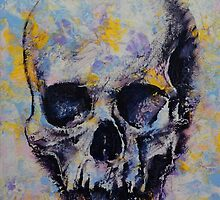 Skull Painting by Michael Creese