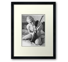Simon - I Framed Print