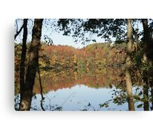 Fall Refractions Canvas Print