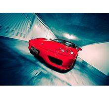 Ferrari 360F1 Spider Photographic Print