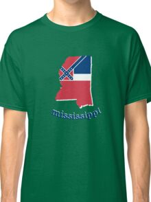 mississippi state flag Classic T-Shirt