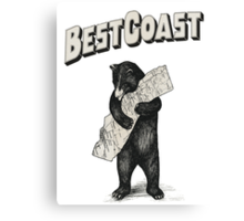Best Coast HQ Canvas Print