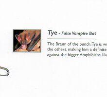 Tye_The False Vampire Bat by johnny jenkins