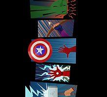 avengers by kikolow