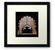 Moorish Architecture Framed Print