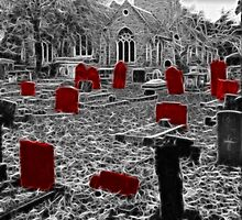 Spooky Graveyard !! by Colin J Williams Photography