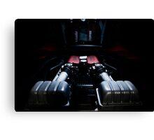 Ferrari 360F1 Spider Engine Bay Canvas Print
