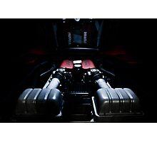 Ferrari 360F1 Spider Engine Bay Photographic Print